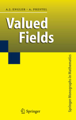 Engler, Antonio J. - Valued Fields, ebook