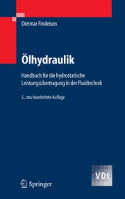 Findeisen, Dietmar - Ölhydraulik, ebook