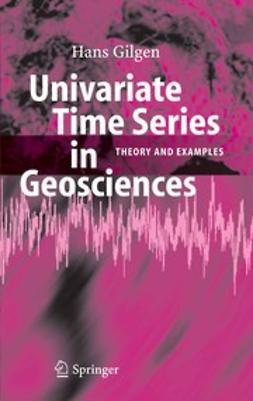 Gilgen, Hans - Univariate Time Series in Geosciences, ebook