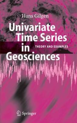 Univariate Time Series in Geosciences