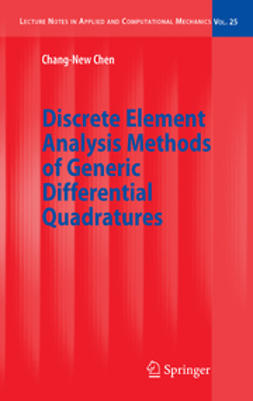 Chen, Chang-New - Discrete Element Analysis Methods of Generic Differential Quadratures, ebook