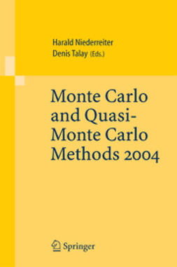 Niederreiter, Harald - Monte Carlo and Quasi-Monte Carlo Methods 2004, ebook