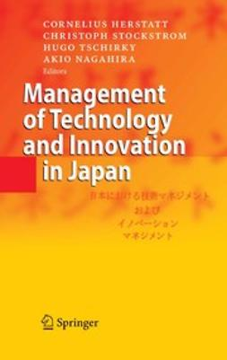 Herstatt, Cornelius - Management of Technology and Innovation in Japan, e-kirja