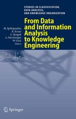 Borgelt, Christian - From Data and Information Analysis to Knowledge Engineering, ebook