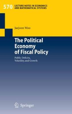Woo, Jaejoon - The Political Economy of Fiscal Policy, e-bok