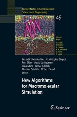 Chipot, Christophe - New Algorithms for Macromolecular Simulation, ebook