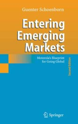Schoenborn, Guenter - Entering Emerging Markets, ebook