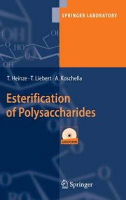 Heinze, Thomas - Esterification of Polysaccharides, ebook