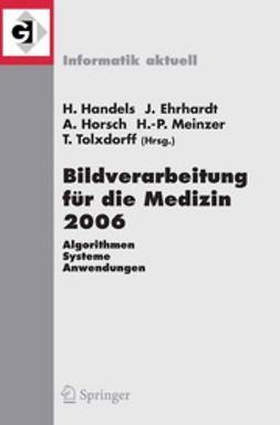Ehrhardt, Jan - Bildverarbeitung für die Medizin 2006, ebook