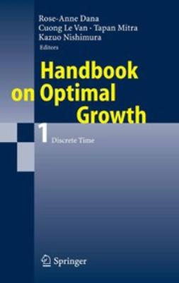 Dana, Rose-Anne - Handbook on Optimal Growth 1, ebook