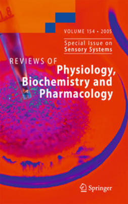 - Reviews of Physiology, Biochemistry and Pharmacology, ebook