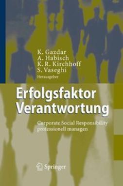 Gazdar, Kaevan - Erfolgsfaktor Verantwortung, ebook