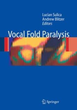 Blitzer, Andrew - Vocal Fold Paralysis, ebook