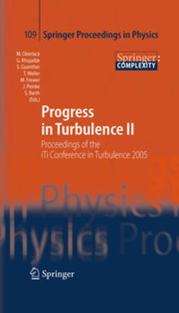 Oberlack, Martin - Progress in Turbulence II, ebook