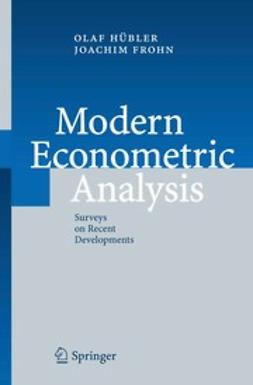 Frohn, Jachim - Modern Econometric Analysis, ebook