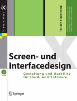 Stapelkamp, Torsten - Screen- und Interfacedesign, ebook