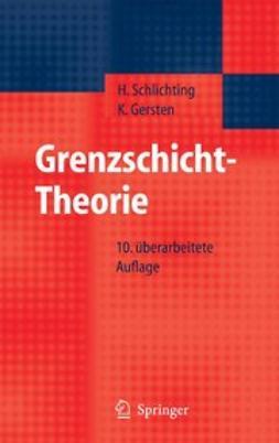 Gersten, Klaus - Grenzschicht-Theorie, e-kirja