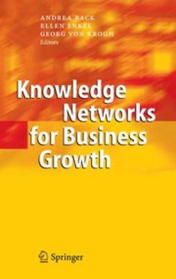 Back, Andrea - Knowledge Networks for Business Growth, ebook