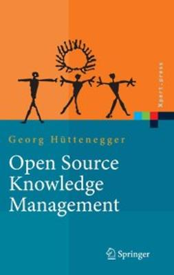 Hüttenegger, Georg - Open Source Knowledge Management, ebook
