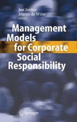 Jonker, Jan - Management Models for Corporate Social Responsibility, ebook