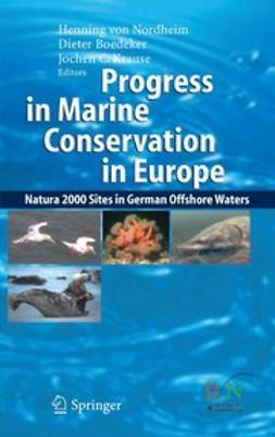 Boedeker, Dieter - Progress in Marine Conservation in Europe, ebook