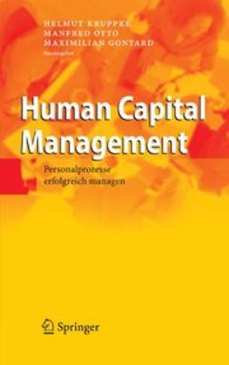 Gontard, Maximilian - Human Capital Management, ebook