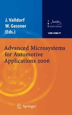 Gessner, Wolfgang - Advanced Microsystems for Automotive Applications 2006, e-bok