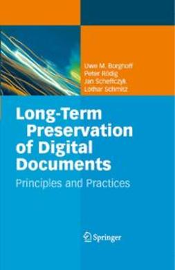 Borghoff, Uwe M. - Long-Term Preservation of Digital Documents, ebook