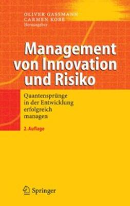 Gassmann, Oliver - Management von Innovation und Risiko, e-kirja