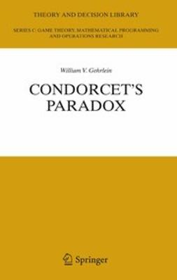 Gehrlein, William V. - Condorcet's Paradox, ebook