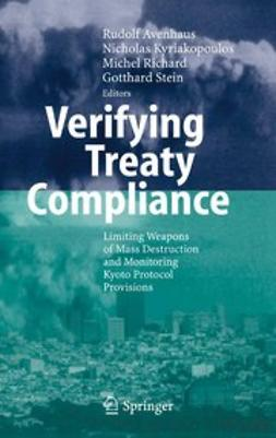 Avenhaus, Rudolf - Verifying Treaty Compliance, ebook