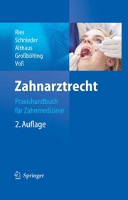 Zahnarztrecht