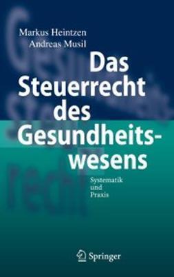 Heintzen, Markus - Das Steuerrecht des Gesundheitswesens, ebook