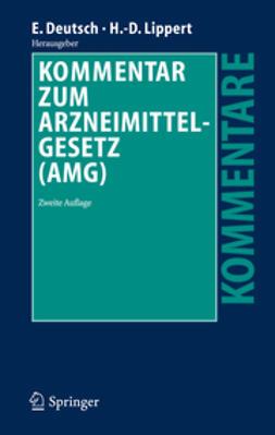 Deutsch, Erwin - Kommentar zum Arzneimittelgesetz (AMG), ebook