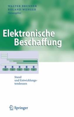 Brenner, Walter - Elektronische Beschaffung, ebook