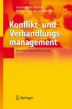 Reinhardt, Rüdiger - Konflikt- und Verhandlungsmanagement, ebook