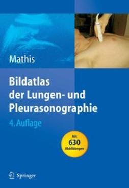 Mathis, Gebhard - Bildatlas der Lungen- und Pleurasonographie, ebook