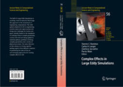 Iaccarino, Gianluca - Complex Effects in Large Eddy Simulations, ebook