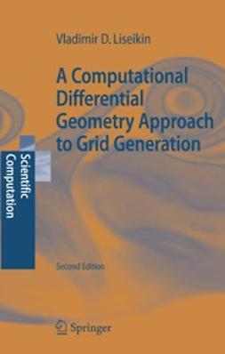 Liseikin, Vladimir D. - A Computational Differential Geometry Approach to Grid Generation, ebook