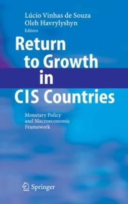 Havrylyshyn, Oleh - Return to Growth in CIS Countries, ebook