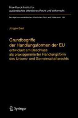 Bast, Jürgen - Grundbegriffe der Handlungsformen der EU, ebook