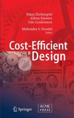 Ehrlenspiel, Klaus - Cost-Efficient Design, ebook