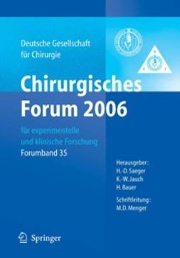 Bauer, H. - Chirurgisches Forum 2006, ebook