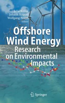 Köller, Julia - Offshore Wind Energy, ebook