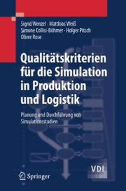 Collisi-Böhmer, Simone - Qualitätskriterien für die Simulation in Produktion und Logistik, ebook