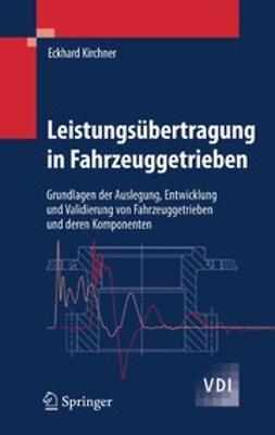 Kirchner, Eckhard - Leistungsübertragung in Fahrzeuggetrieben, ebook