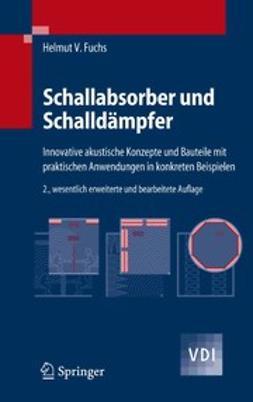 Fuchs, Helmut V. - Schallabsorber und Schalldämpfer, ebook