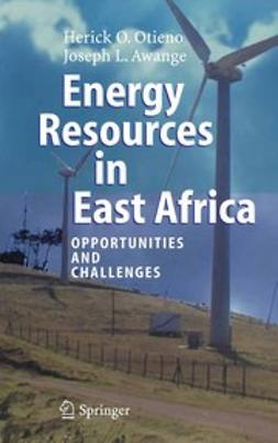 Awange, Joseph L. - Energy Resources in East Africa, ebook