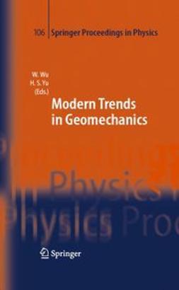 Wu, Wei - Modern Trends in Geomechanics, ebook