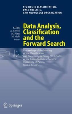 Cerioli, Andrea - Data Analysis, Classification and the Forward Search, e-bok